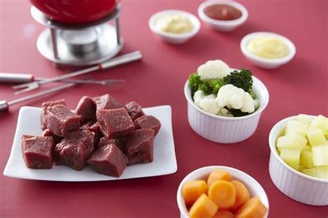 cuisine chaude recette de fondue bourguignonne facile et rapide