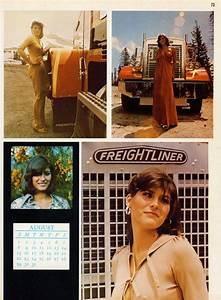 Calender For July And August Trucker Magazine Calendar Girls Of The 1970s Flashbak