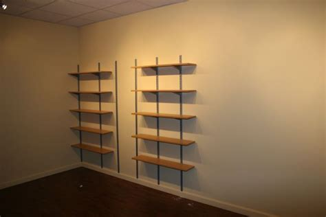 Garage Shelving Track by Rubbermaid Wall Shelving New Garage Strategies Shelves And