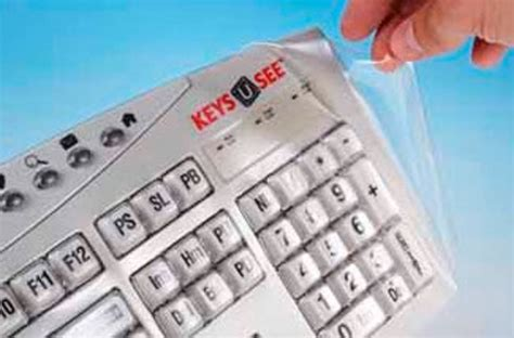 Visiflex Seels Cover For Keys-u-see Keyboard
