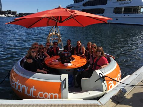 Barbecue Boat Noosa by Aqua Donut Melbourne Floating Bbq Donut Exploring Oz