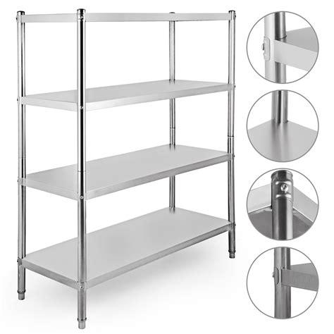 stainless steel kitchen shelf shelving rack commercial