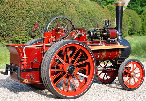 scale allchin agricultural traction engine