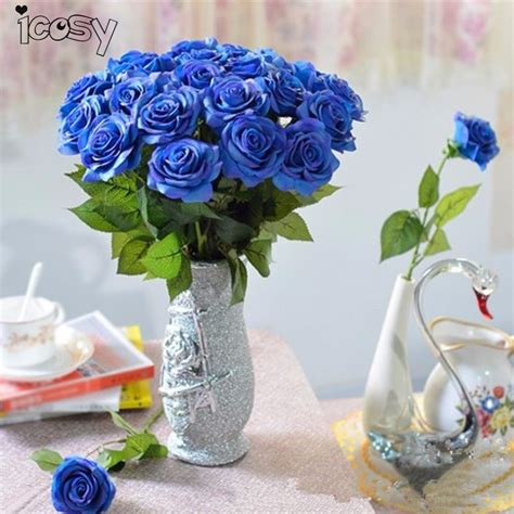 blue flower touch l popular real blue flowers buy cheap real blue flowers lots