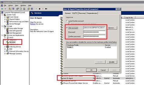 user agent service starting configured verify settings screenshot same above services account paloaltonetworks
