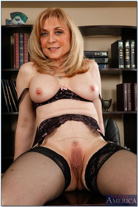 [my first sex teacher] nina hartley in her seductive lingerie and stockings nailed by male