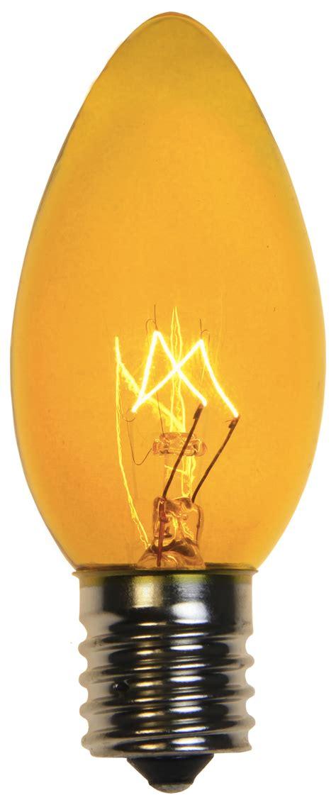 To Light by C9 Light Bulb C9 Yellow Light Bulbs