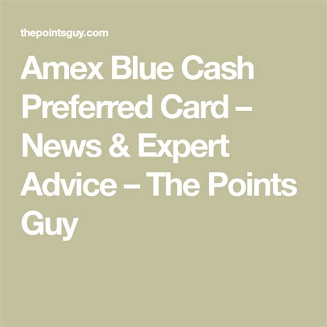 We did not find results for: Blue Cash Preferred® Card from American Express - The Points Guy   Amex blue cash, The points ...