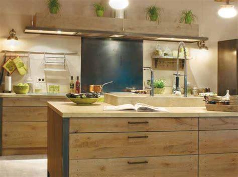 cuisine en naturelle déco cuisine bois naturel
