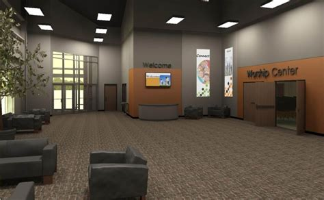 Church Foyer Designs by Part 2 Creating A Cost Effective Quality Building That