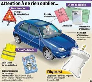 Ethylotest Obligatoire En Voiture : tout ce qui est obligatoire dans une voiture en 2012 anti radar le blog qui vous avertit ~ Medecine-chirurgie-esthetiques.com Avis de Voitures