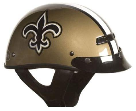 Saints Motorcycle Helmet, New Orleans Saints Motorcycle