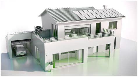 plan plain pied 4 chambres maison 3d top maison