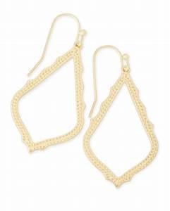 Sophia Drop Earrings in Gold Kendra Scott Jewelry