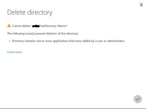 Cannot Remove Application From Azure Ad