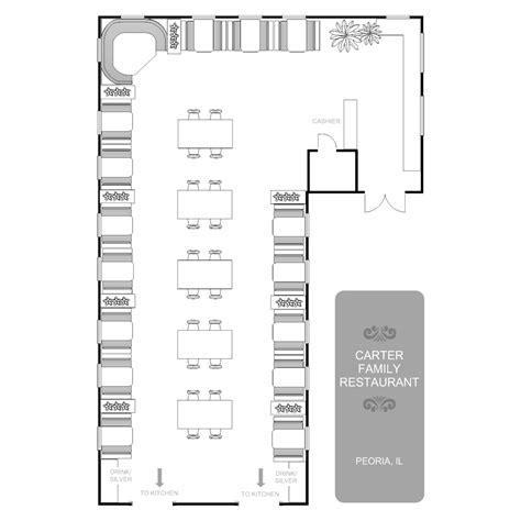open layout house plans restaurant floor plan
