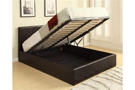 Bett Mit Aufbewahrung by Richmond Grey Fabric Ottoman Storage Bed King