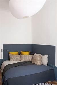 une tete de lit pour votre chambre feng shui blog feng shui With peindre de la tapisserie