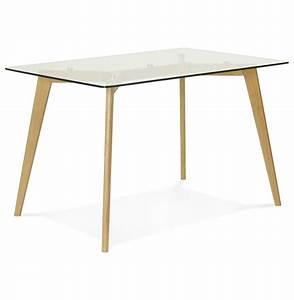 Petite Table En Verre : bureau droit bugy en verre petite table design 120x80 cm ~ Teatrodelosmanantiales.com Idées de Décoration