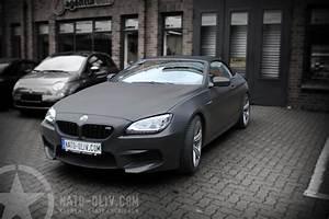 Folie Schwarz Matt : bmw m6 cabriolet in schwarz matt und carbon nato ~ Jslefanu.com Haus und Dekorationen