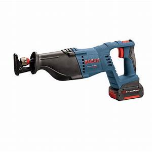 Bosch 18 Volt Cordless Electric Power Reciprocating Saw ...