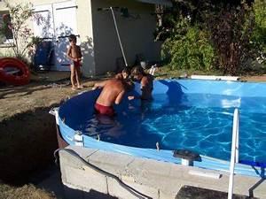Piscine A Enterrer : eclairage enterrer piscine hors sol ~ Zukunftsfamilie.com Idées de Décoration