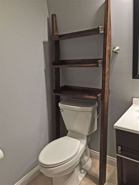 ladder bathroom shelves cottage bathroom  add