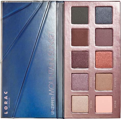 lorac unzipped sunset series eyeshadow palettes