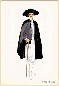 French national costumes. Man from Ile de Batz, Brittany ...