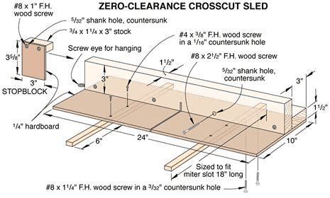 wooden table  sled plans  woodworking