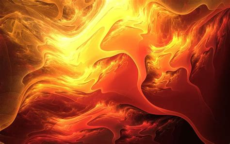 Abstraction Fiery Colors Of Lava Wallpaper 1920x1200
