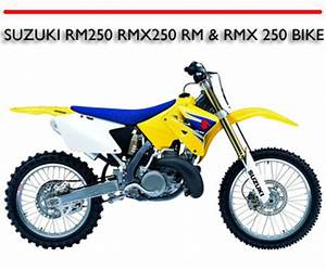 Suzuki Rm250 Rmx250 Rm  U0026 Rmx 250 Bike Workshop Repair