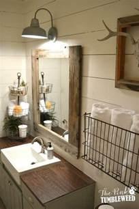 For Bathroom Ideas Rustic Farmhouse Bathroom Ideas Hative