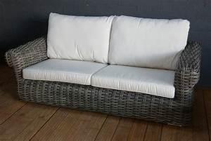 CANAPE RESINE TRESSEE Canapés et fauteuils
