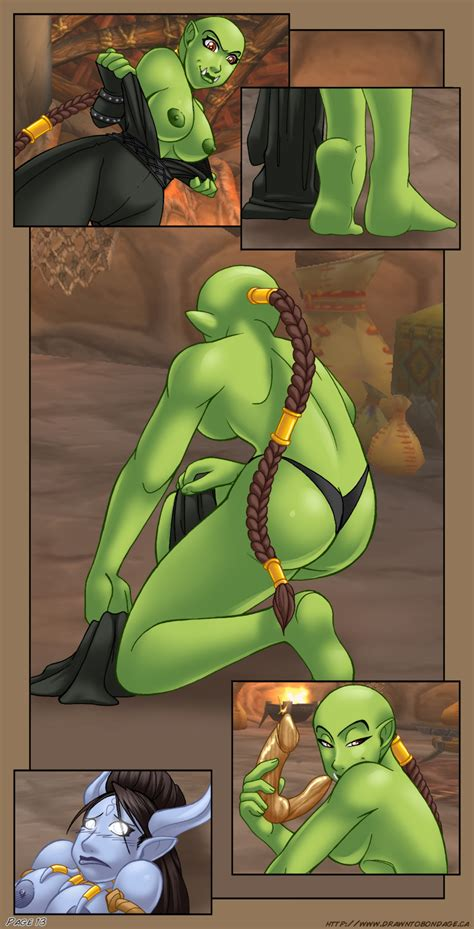 dirty orcs fucks sexy draenei babes in adult comics