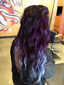 Purple to silver blue ombre | Hair | Pinterest | Ombre ...