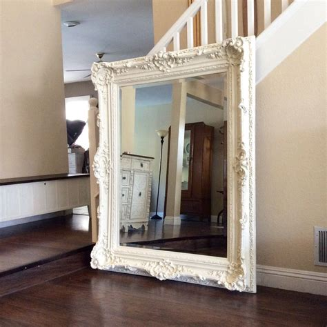 Large Bathroom Mirrors For Sale by Gorgeous Ornate Mirror Large White Mirror Shabby Chic Wall