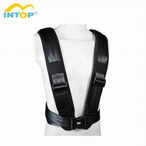 Factory Price Gym Fitness Harness With Pull Strap