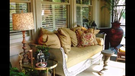 stunning enclosed porch decorating ideas youtube