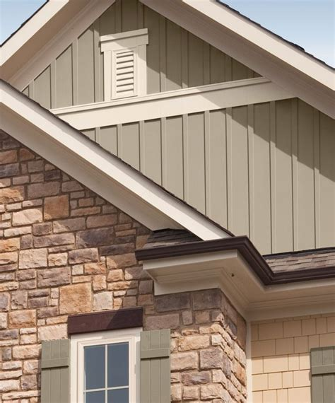 board  batten siding ideas images  pinterest