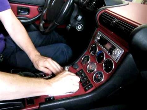 bmw  roadster    series shift knob replacement