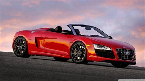 Red Audi Stasis 4k Hd Desktop Wallpaper For 4k Ultra Hd Tv