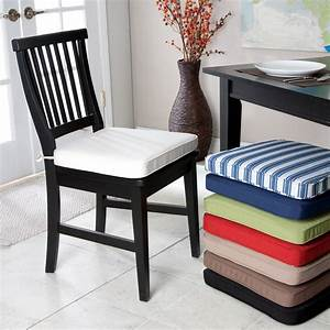 Dining room chair cushions large and beautiful photos for Dining room chair cushions design