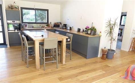 peut on mettre du parquet dans une cuisine parquet pour cuisine un sol en bois dans une cuisine pas