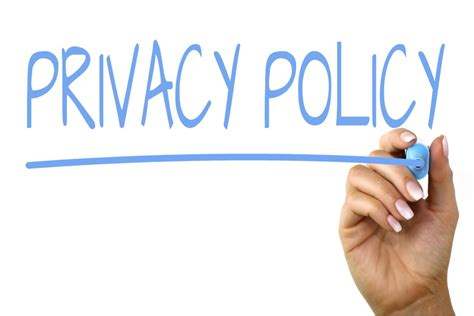 privacy policy handwriting image