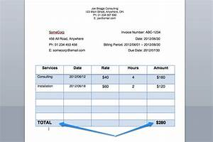 best photos of sample of invoice for payment progress With how to write an invoice for services rendered