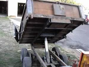 Fabriquer Une Remorque : kubota b2530 benne maison youtube ~ Maxctalentgroup.com Avis de Voitures