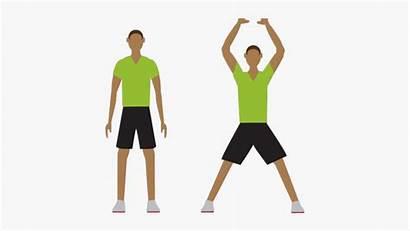 Jumping Jacks Exercise Clipart Kid Cartoon Moves