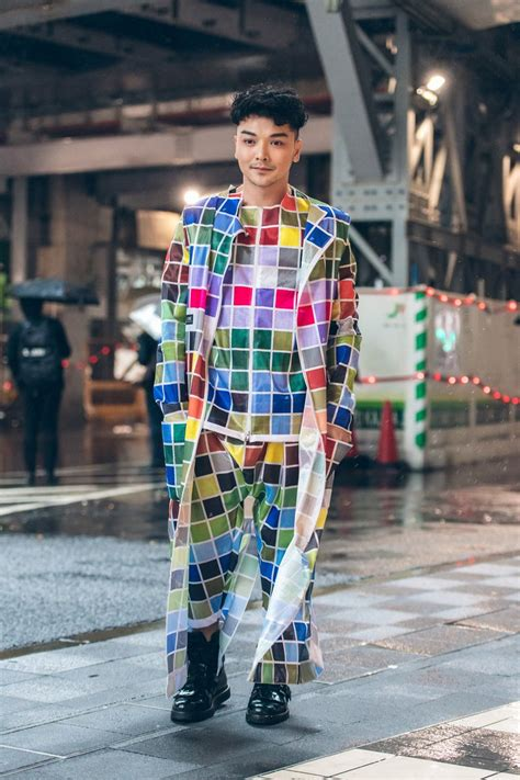 colorful styles day 4 of tokyo fashion week 100 tokyo snaps up now at vogue