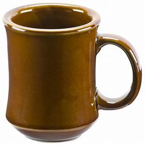7, Oz, Brown, Princess, Bell, Shaped, China, Coffee, Mug, Case
